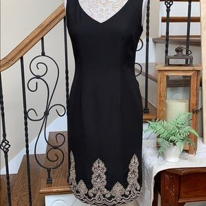 Positive Attitude size 6 black dress